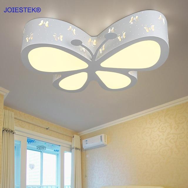 Verbazingwekkend Mooie Cartoon Vlinder LED Plafondlamp Kids Lamp voor Dining kamer JC-83