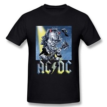 Neue Mode-Design AC/DC Herren T Shirts acdc Graphic Printed Baumwollbeiläufiges Tees Hemd Rock Band Hip Hop Shorts Männer Kleidung S-3XL
