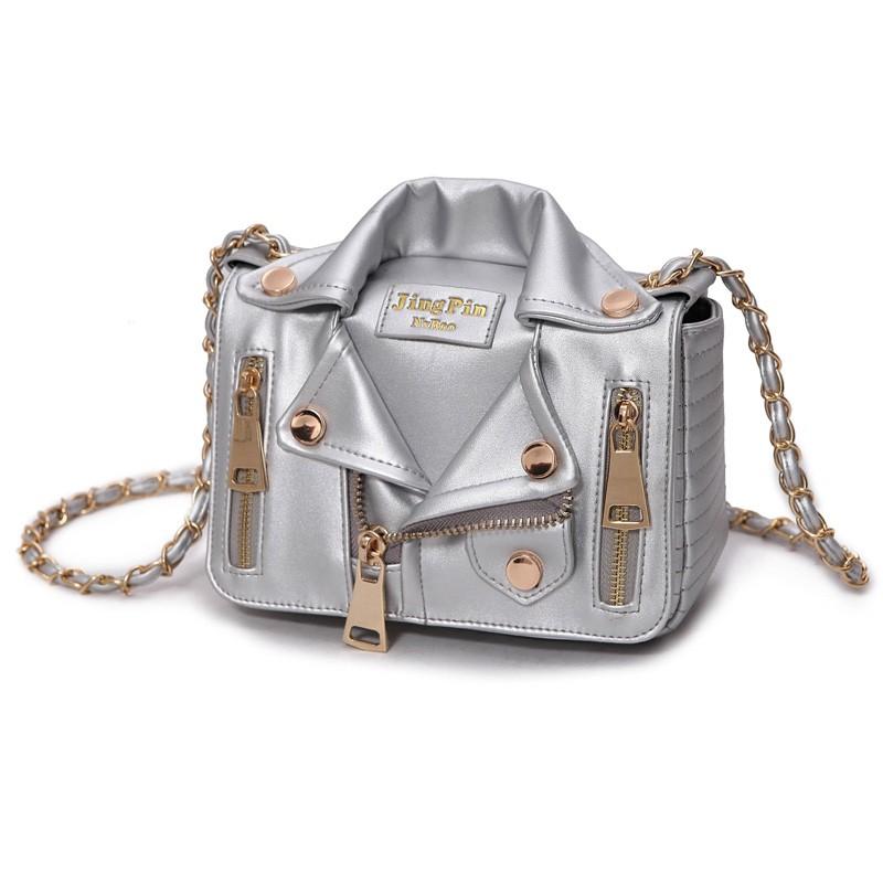 Promotion!Free Ship Hot Brand Designer Motorcycle Bags Women Clothing Shoulder Jacket Bags Messenger Bag Women Leather Handbags (21)