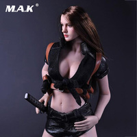 1:6 Scale Woman Clothes Sexy Killer Clothing Suit for 12 inches Seamless Body Action Figure Accessories