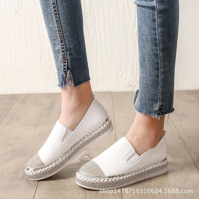Good quality canvas 2018 spring new womens shoes good-looking Korean version of the flat walking shoes MBTXGood quality canvas 2018 spring new womens shoes good-looking Korean version of the flat walking shoes MBTX