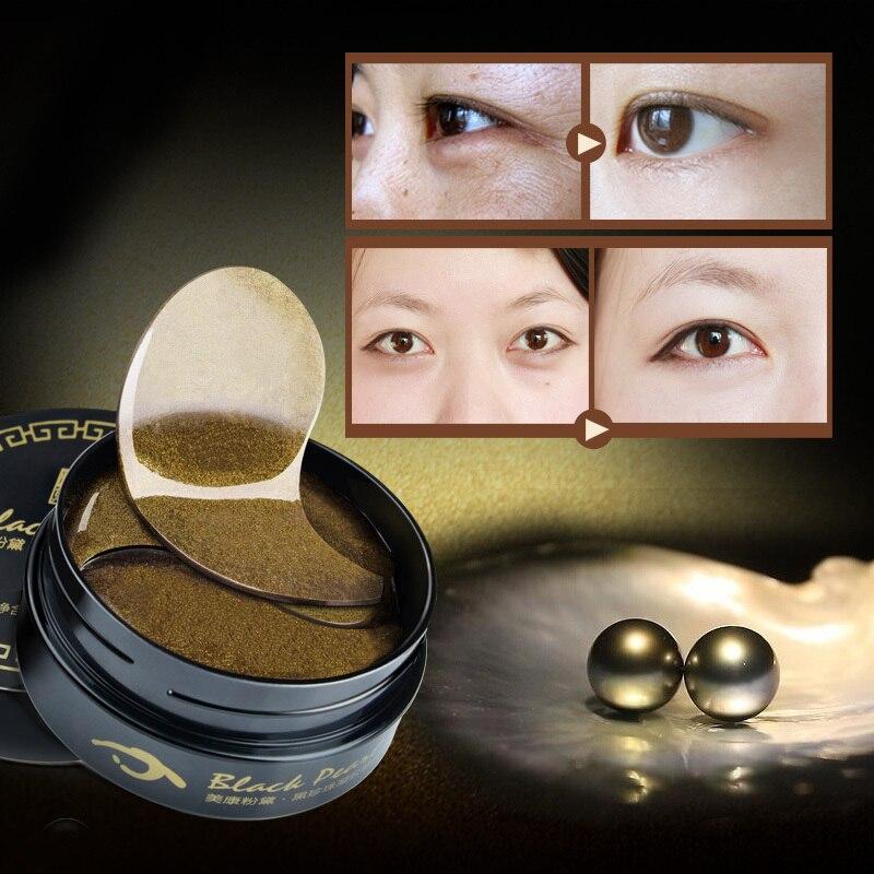 Máscara de Cristal de Colágeno Pearl Gel Olhos Máscaras Remendo