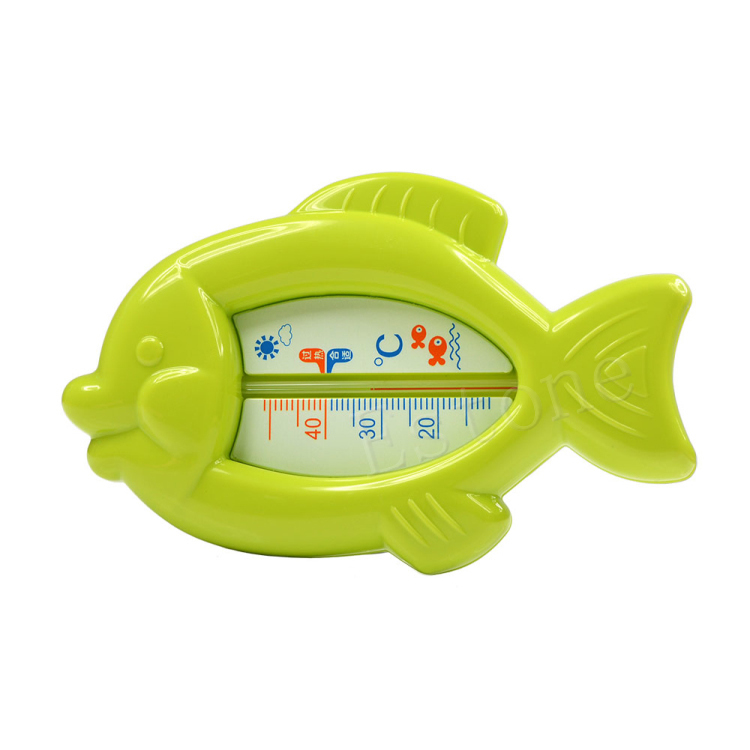 1Pc Baby Safety Bath Tub Water Sensor Babe health care Thermometer Floating Fish Plastic Float Toy Infant
