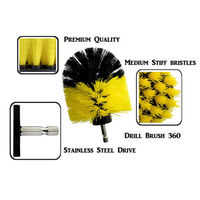 Power Scrubber Brush Set for Bathroom | Drill Scrubber Brush for Cleaning Cordless Drill Attachment Kit Power Scrub Brush 5