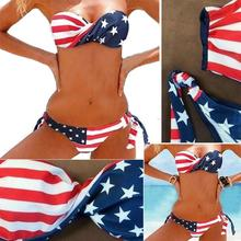 Fabulous Women Bikini Set Swimwear Push-Up Padded Print Bra Swimsuit Beachwear New Style Women's Swimsuits Sumptuous Biquini