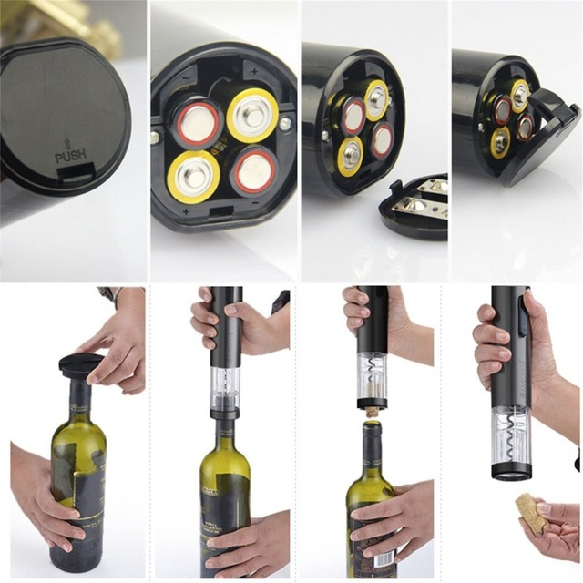 Automatic Electric Bottle Opener