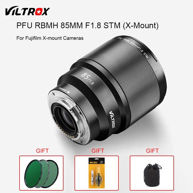 VILTROX PFU RBMH 85mm F1 8 STM X mount AF Auto Focus Standard Prime Lens Portrait
