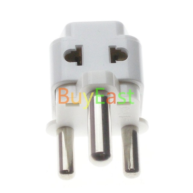 South Africa Travel Adapter Type M Large 15 amp BS 546, 2 Port Multi ...