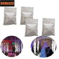 4 Bags Smokeless Ti Powder 200g/bag Material For Wedding Digital Cold Spark Firework Machine