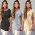 Бесплатная доставка 2016 весной и летом новый женский короткие кружева дна рубашка большого размера женщин