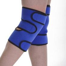 Новый вид высокая qualityTourmaline самостоятельная отопление kneepad SBR Магнитотерапия колено поддержки Пояса до колен Массажер 1 шт.