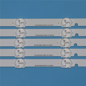 Image 4 - 9 Lamps LED Backlight Strip For Samsung UA32F5000AR UA32F5100AR UA32F5300AR UA32F5500AR UA32F6100AR Bars Kit Television LED Band