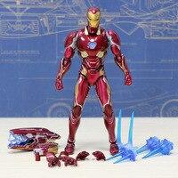 Iron Man action Figures anime avenger kids toys for children boys Game of model