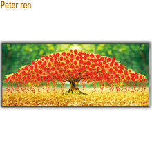 Diy Diamond painting Money tree embroidery Rich Full Square mosaic icon Fortune 3d mosaico needlework