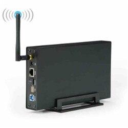 BS-U35WF Wireless Storage Geräte 6TB 2,5 3,5 SATA HDD/SSD Gehäuse Nas LAN Teilen RJ45 Ethernet drahtlose Geräte