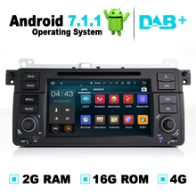 2G RAM Android 7.1 Car DVD Auto Radio Player Multimedia Stereo Media Navigation GPS System For BMW 3 Series E46 318i 320i 325i