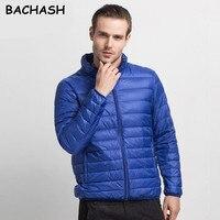 BACHASH Mens Autumn Winter Jacket Men Solid Breathable Jackets Men Outdoors Coats Parka Chaqueta Hombre Plus
