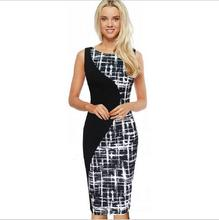 Bump the color Splice Bodycon Dress Summer Plus Size Women Clothing Ukraine Womens Sexy Dresses Party