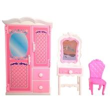 1 шт. Кукольный дом шкаф игрушка принцесса спальня мебель шкаф гардероб для кукол игрушки, подарки для детей аксессуары для кукол