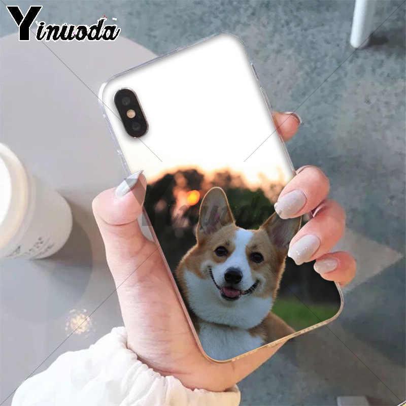 11pro ماكس أفضل صديق الحيوان فصيل كورجي غطاء ذكي لينة قذيفة جراب هاتف ل أبل فون 8 7 6 6S زائد X XS ماكس 5 5S SE XR