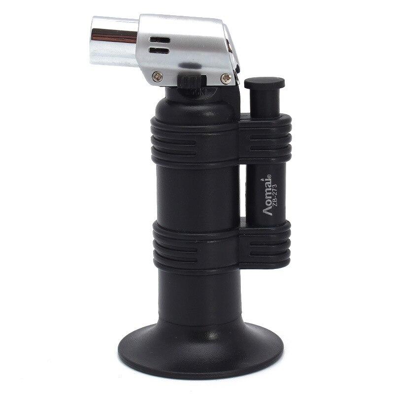Бесплатная доставка Прикуриватель факел турбо Зажигалка Jet бутан сигарета 1300 C распылитель ветрозащитный труба Зажигалка для кухни