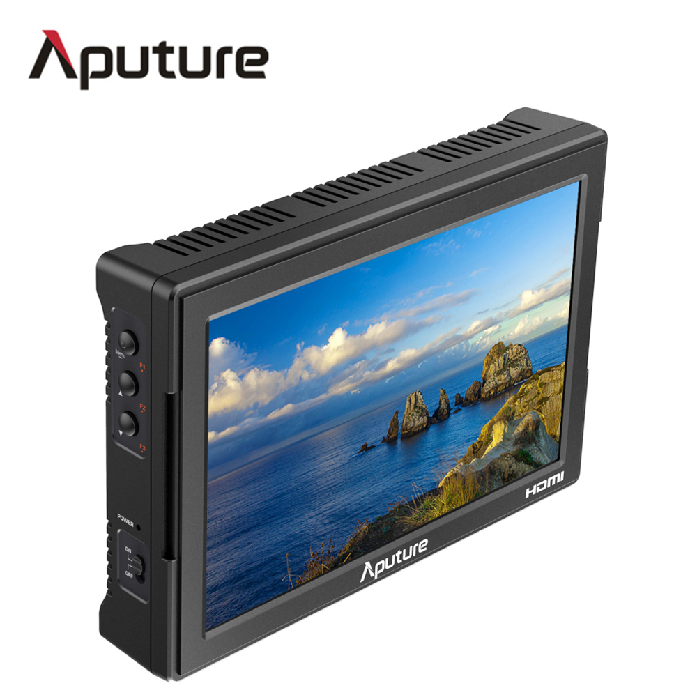 Aputure VS-5 7 inch Monitor SDI HDMI Input with waveform, vectorscope,  Histogram, Zebra, false color lcd profession monitor new aputure vs 5 7 inch 1920 1200 hd sdi hdmi pro camera field monitor with rgb waveform vectorscope histogram zebra false color