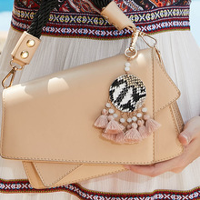 New Bohemia Style Tassels keychain 2019 Personality European And American Fashion Bags Pendant Accessories Wholesale