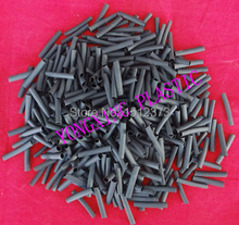 цена на 500pcs /lot 2.5mm 3cm length pvc heat shrink tube ratio 2:1 sleeving