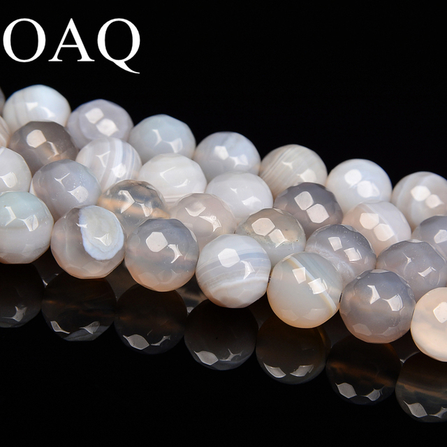 6-10mm Natural Stone Agat Bead For Making Jewelry Handmade Wholesale Beads For Beading Necklace Beads Accessories