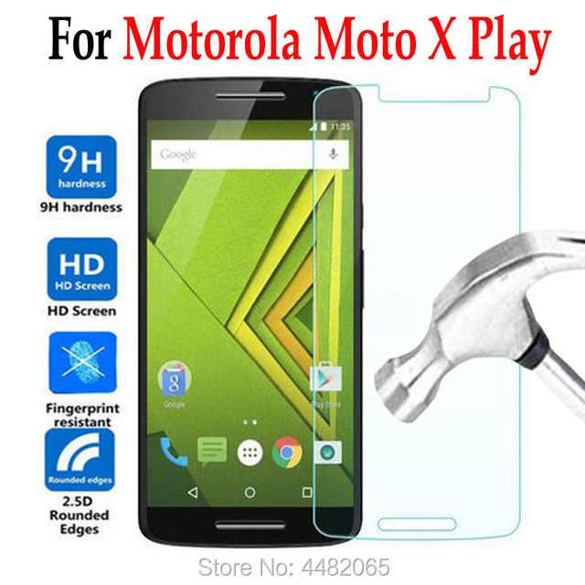 ل موتو x اللعب xplay الزجاج المقسى لموتورولا موتو X اللعب XT1562 XT1563 الهاتف واقي للشاشة غطاء طبقة رقيقة واقية حالة