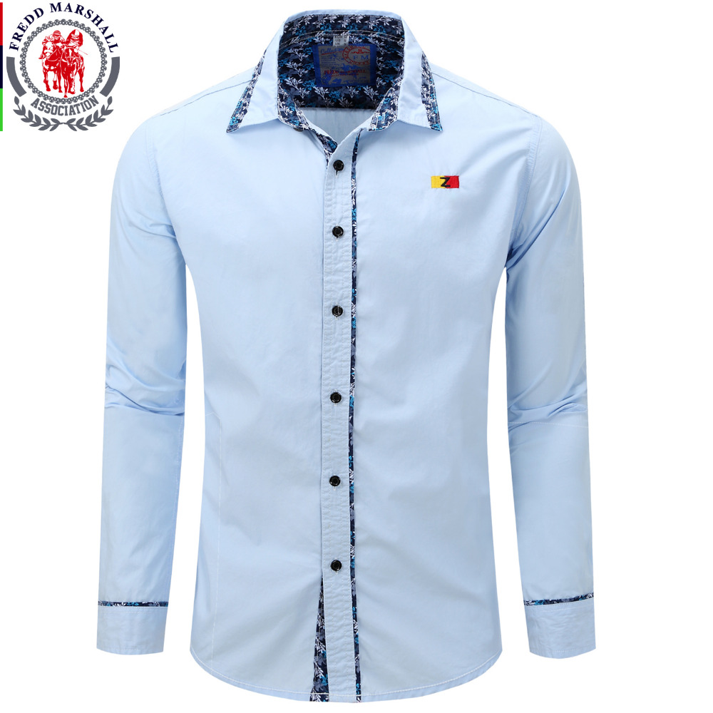 Men 39 s shirt 2016 new arrive spring men shirt fashion for Mens dress shirt sleeve length
