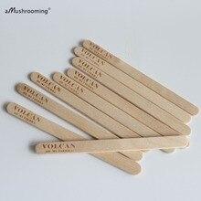 X100 по индивидуальному заказу березовые деревянные палочки Отель Ресторан гравировка бренда закладки для книги День рождения палочки для мороженого