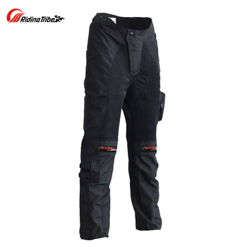 Motorcycle protection gear Pants Racing Long Protective trousers Motorbike Drop Resistance Racing Pants With Knee Pads