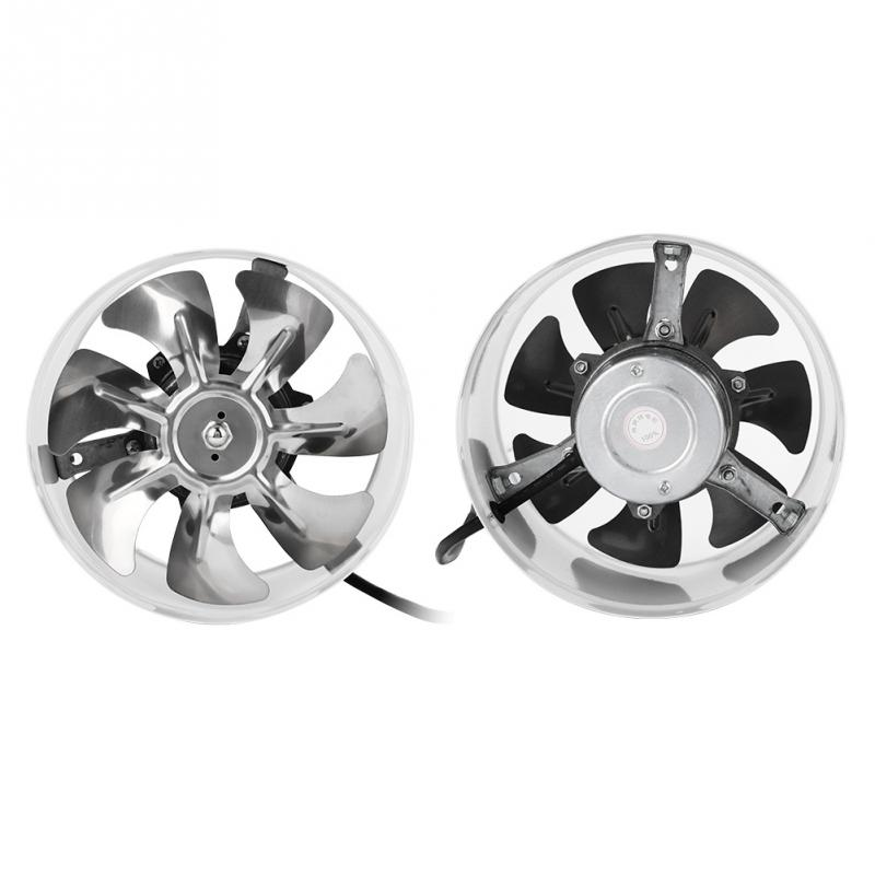 7 inch Exhaust Fan 50W 220V metal Exhauster Wall Mounted ...