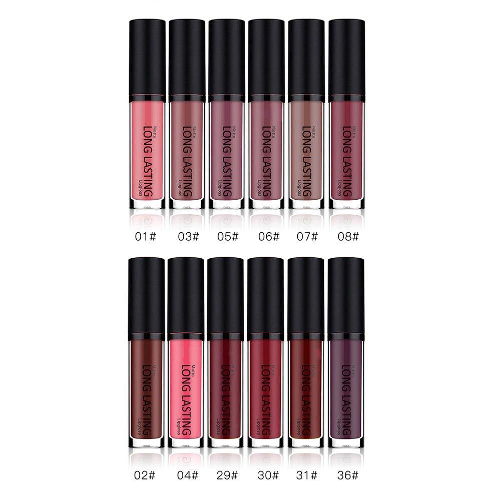 Maquillage ensemble Rouge À Lèvres baume à lèvres Brillant À Lèvres batom mat rouge à lèvres Longue durée Étanche 10 Couleur Rouge À Lèvres Ensemble