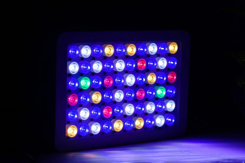 аквариум 180 вт dimmable вело света аквариума для морской аквариум бесплатная доставка профессиональный полный спектр украшения лидер продаж