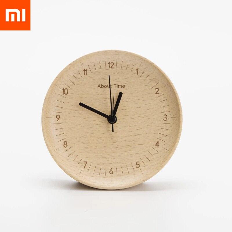 ต้นฉบับXiaomi Mijiaเกี่ยวกับเวลานาฬิกาปลุกไม้บีชใบ้สก์ท็อปโต๊ะนาฬิกานาฬิกาสำหรับXiaomiสมาร์ทบ้าน-ใน รีโมทคอนโทรลอัจฉริยะ จาก อุปกรณ์อิเล็กทรอนิกส์ บน AliExpress - 11.11_สิบเอ็ด สิบเอ็ดวันคนโสด 1
