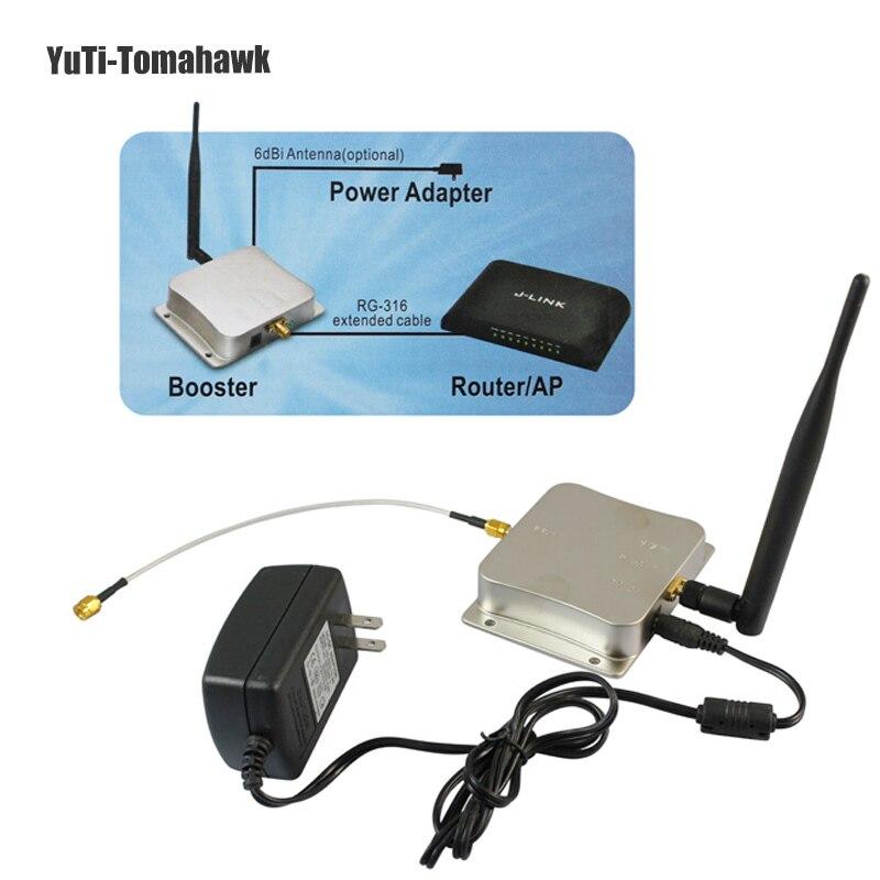 Лидер продаж! 2,4 ГГц 5 Вт Беспроводной Wi-Fi усилитель сигнала Repeater Широкополосные усилители для Беспроводной маршрутизатор сетевой карты