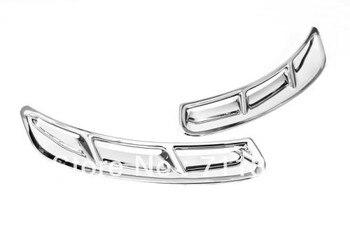 Xe Styling Chrome Fender Air Vent Bìa Trim Đối Với Ford S-MAX
