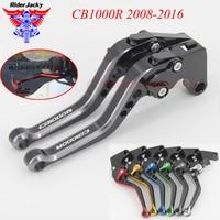 MIX Color 147MM Adjustable Short Motorcycle Brake Clutch Lever For Honda CB1000R CB1000 R CB 1000 R 2008 2016 2015 2014 2013