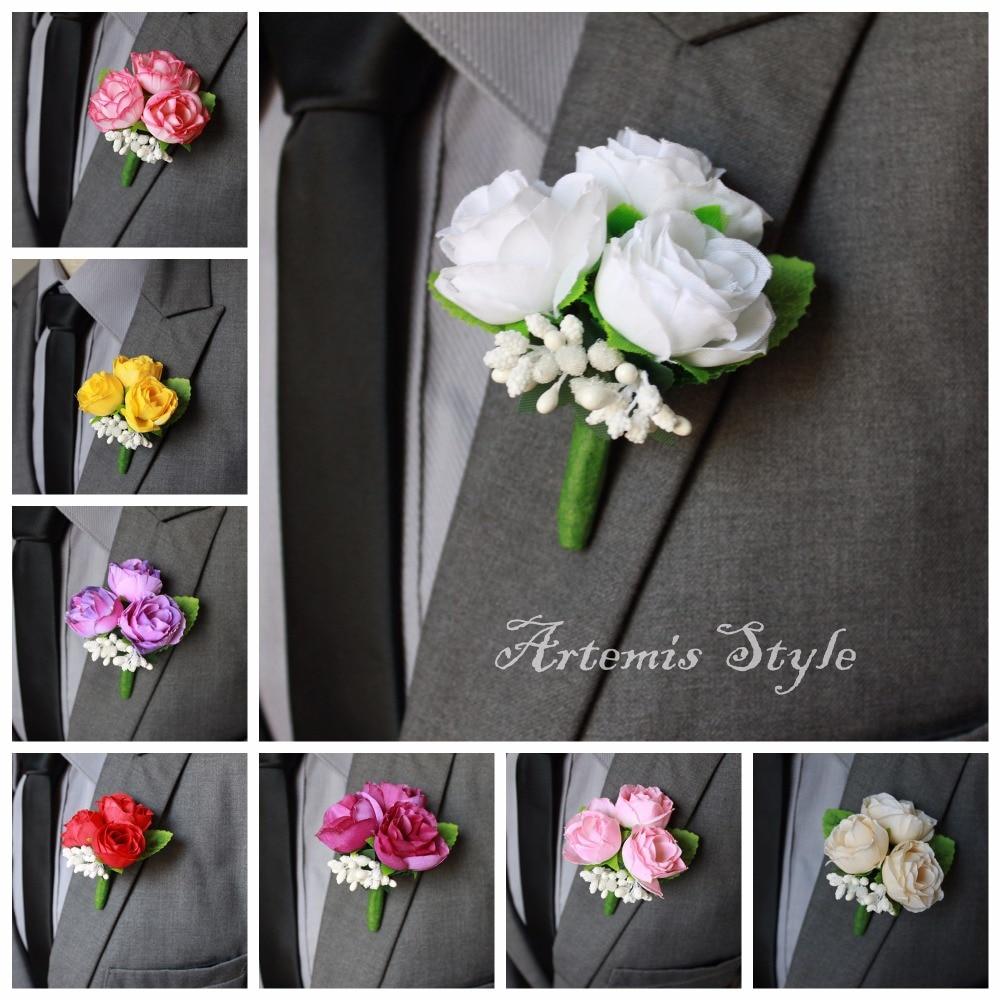Mens Wedding Onhole Flowers Unique Ideas