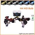 Reemplazo HID Xenon H4 55 W kit de coche Bixenon H4 6000 k 35 W 8000 k 43000 k del bulbo de Lámparas de Luz HID Bi-xenon Niebla Faros Bi xenón H4