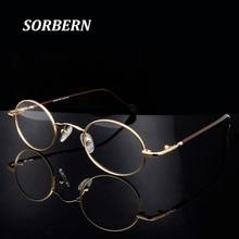 ผู้หญิงรอบ Optical กรอบแว่นตาชาย Retro Retro กรอบแว่นตาชายวินเทจแว่นตาแว่นตา lunette de Vue Homme