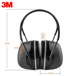 Image 2 - 3M PELTOR X5A Earmuffs Comfortable Sound Insulation Earmuffs Professional Anti noise Hearing Protector for Drivers/Workers