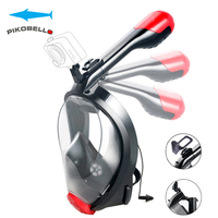 Scuba Diving Gopro Underwater Professional Diving Masks Full Face Anti Fog Dry Snorkel Anti Fof Earplug