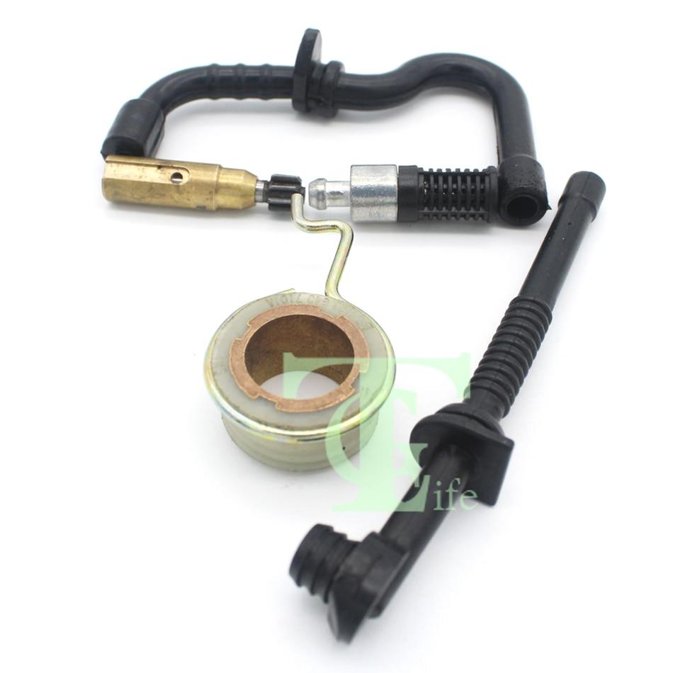 oil pump worm gear oil fuel line hose filter kit for stihl. Black Bedroom Furniture Sets. Home Design Ideas
