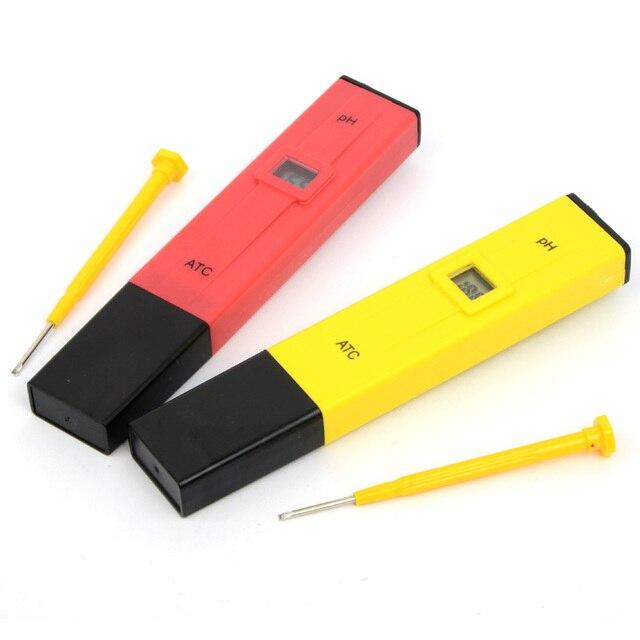 Фото карманная ручка цифровой измеритель ph тест er 009 ia 00 140ph цена