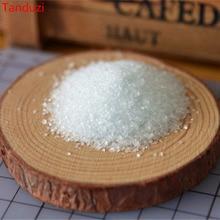 Tanduzi 10 г имитация гранулированного сахара поддельная сахарная пудра DIY 1: 1 Кукольный домик Миниатюрные детали для декора аксессуары изделия из стекла