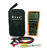 VICI VC97 3 3/4 digital multimeter voltmeter ammeter AC DC voltage current Resistance Capacitance frequency Tester auto range