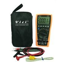 VICI VC97 3 3/4 digital multimeter voltmeter ammeter AC DC voltage current Resistance Capacitance frequency Tester auto range